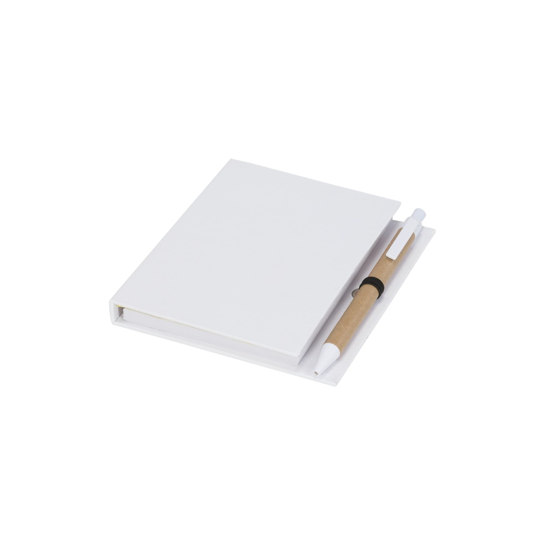 Colours notitieblok met sticky notes en pen