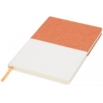 Two-tone canvas A5 notitieboek