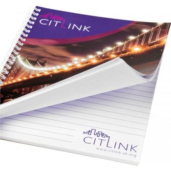 Desk-Mate A4 wire-o notitieboek 80 vel