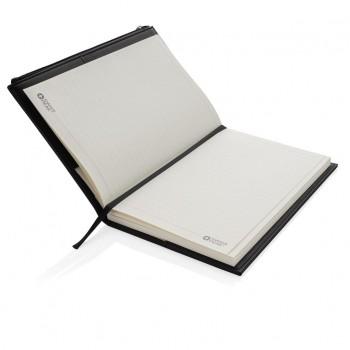 Swiss Peak A5 PU notitieboek met ritsvak