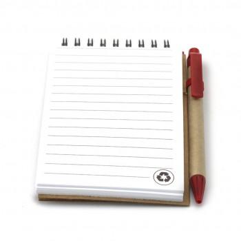 Recycled notitieboekje Ecocard