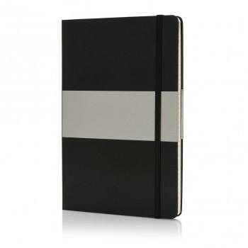 A5 geruit hardcover notitieboek