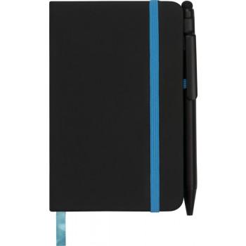 Noir edge notitieboek klein