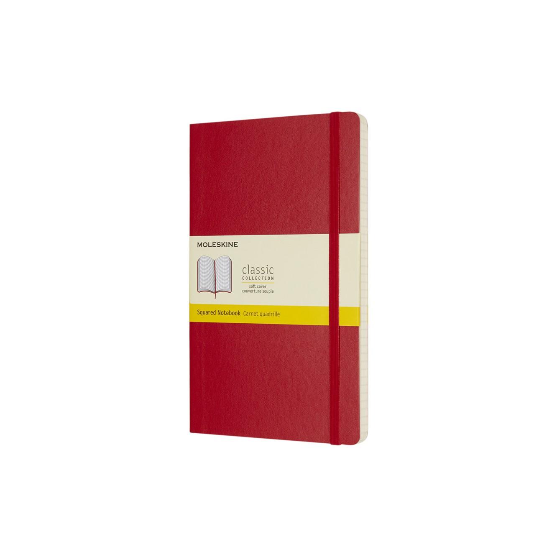 Classic L softcover notitieboek - ruitjes