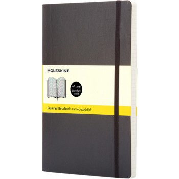 Classic PK softcover notitieboek - ruitjes