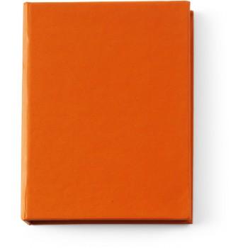 Notitieboekje met memoblaadjes
