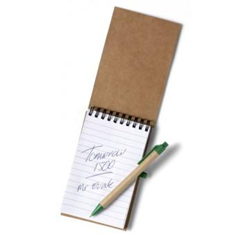 Promo notitieboekje Recycle