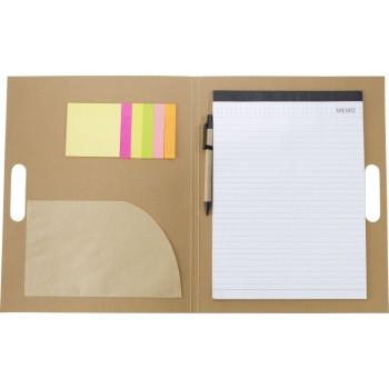 Schrijfmap met memo's
