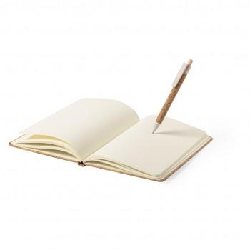 Set notitieboekje en pen Minsor