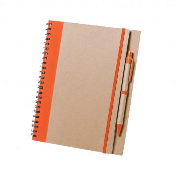 Recycled notitieboekje Tunel