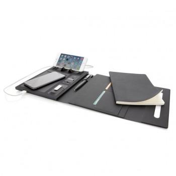 5.000 mAh power A5 notitieboek met draadloos opladen