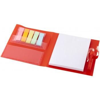 Cray notitieboek met sticker notes