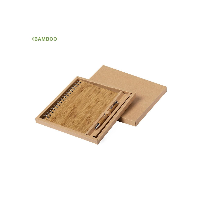 Set notitieboekje en pen Hecan