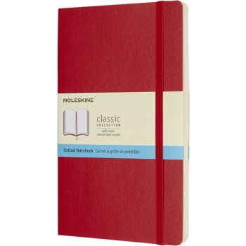Classic L softcover notitieboek - gestippeld