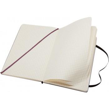 Classic L hardcover notitieboek - ruitjes