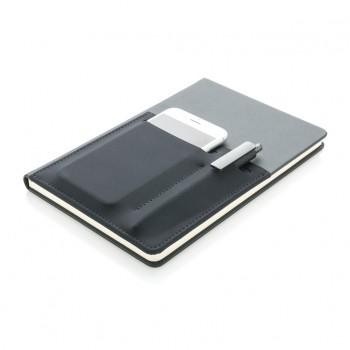 A5 Deluxe notitieboek met slimme opbergvakken