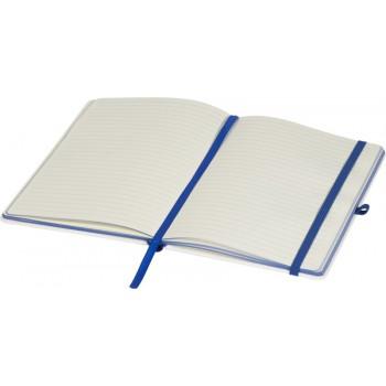 Notitieboek met gekleurde rug (digitale bedrukking)
