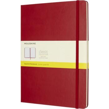 Classic XL hardcover notitieboek - ruitjes
