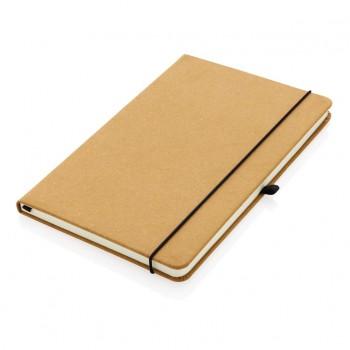 Recycled lederen hardcover notitieboek A5