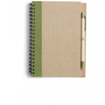 Notitieboekje Green