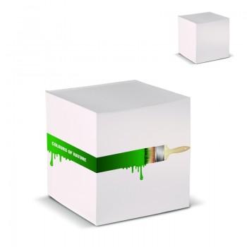 Kubusblok recycled papier