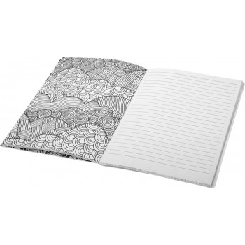 Doodle notitieboek met kleuren